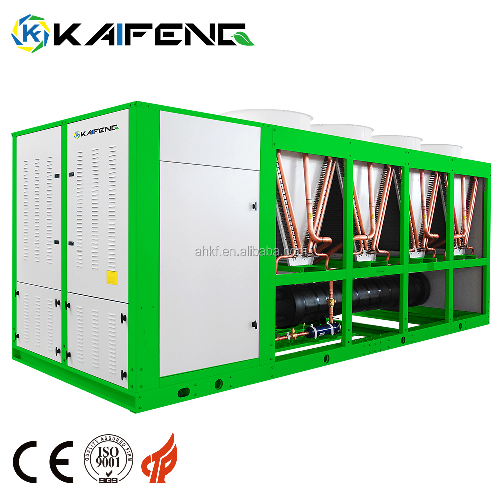 High Effective 140Kw Air Liquor Cooled Screw Compressor Refrigeration Chiller Shini