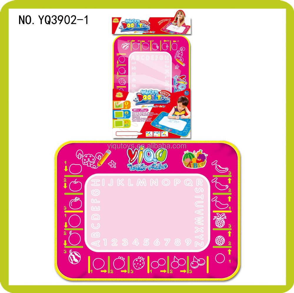 New Cartoon Magic Painting Mat With Pen Baby Drawing Sheet Water ...