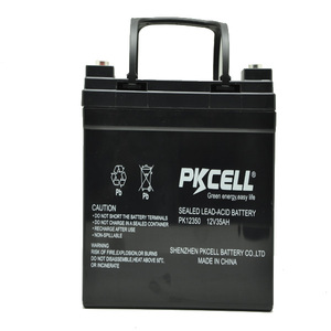 Best price sealed lead acid battery 12v 35ah deep cycle 12 volt batteries for sale for solar power system home