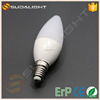 professional Clear Cover e10 candle light bulb