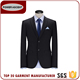 New Design Eco-friendly Business Man Fully Lined Black Formal Suits
