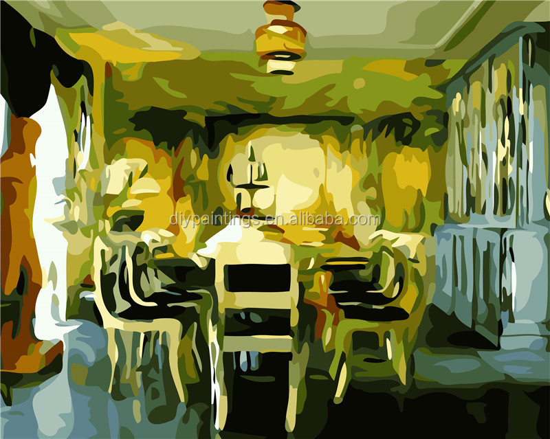 Canvas Painting For Dining Room Decor, Canvas Painting For Dining