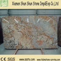 Brown Golden Persa Granite Slab for Countertops