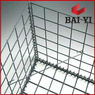 Heavy-Zinc Coated or Galfan 50X100mmWelded Gabion for retaining wall
