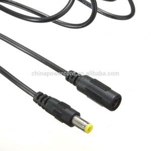 Manufacturer of jack 1.3 *3.5mm male female extension DC power cable