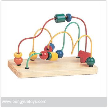 En71 Holz Drahtreifen Spielzeug,Wulst Labyrinth Spielzeug,Draht ...