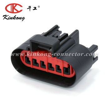 Ford Epc 6 Ways Female Waterproof Ignition Coil And Alternate Coil On Plug  Harness Side Automotive Connector - Buy 6 Waysautomotive Connector,Ford