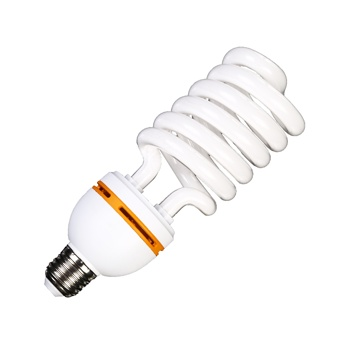 energy saving lamp e27 26w cold white 6500k half spiral cfl lamp