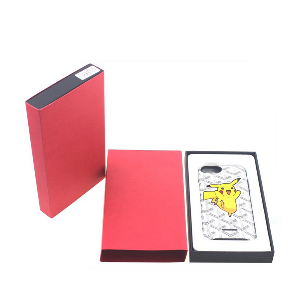 paper gift box with compartments tea packaging customized