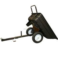 2-wheel tractor trailer dump small boat trailer