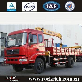 3 Ton 5 Ton 6 Ton 8 Ton Telescopic Boom China Mobile Crane