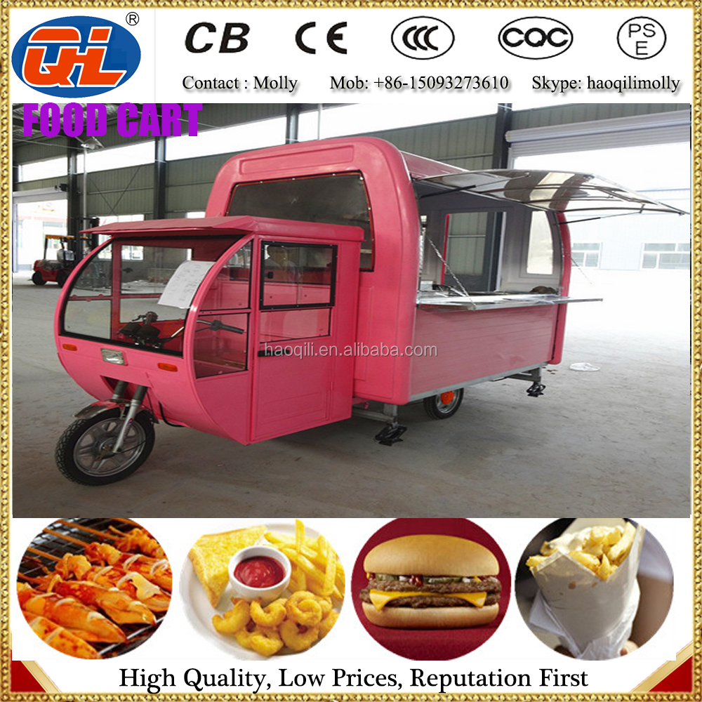 Food Vending Trailer Cars For Sale Mobile Restaurant Trailer | Fast ...