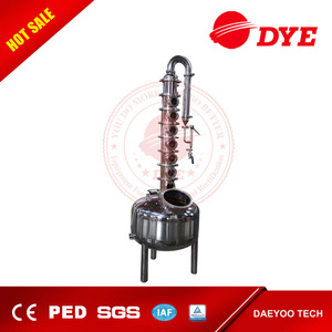 wine making machine price 200L widely used alcohol distilling equipment