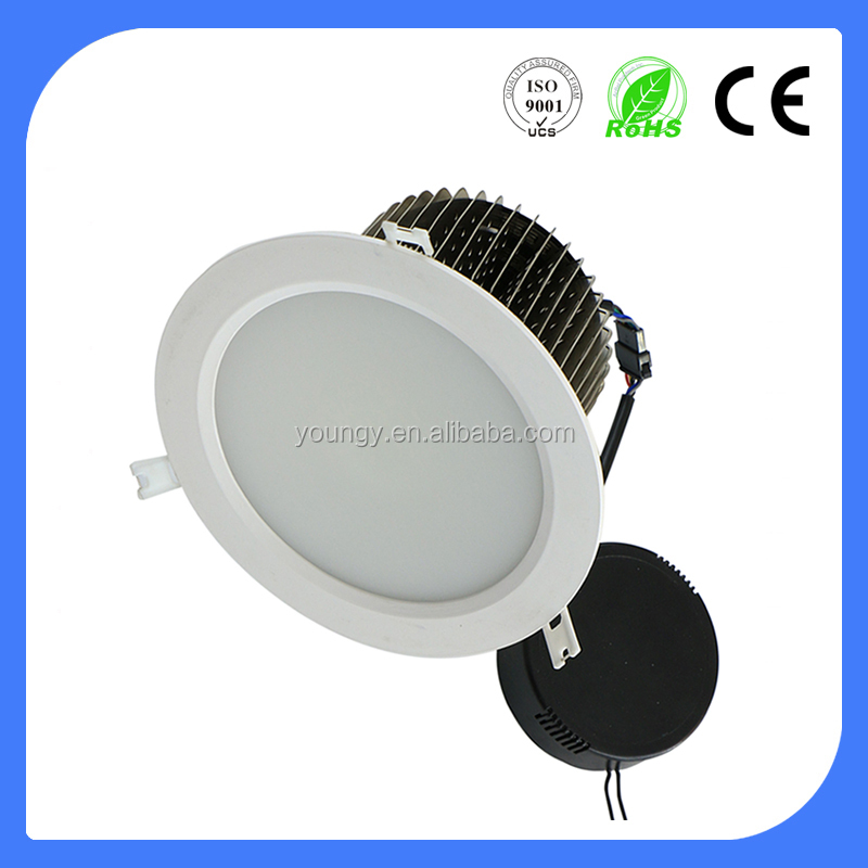 5 inch 6inch 8 inch 10 inch cob recessed led downlight 170mm 200m 12w