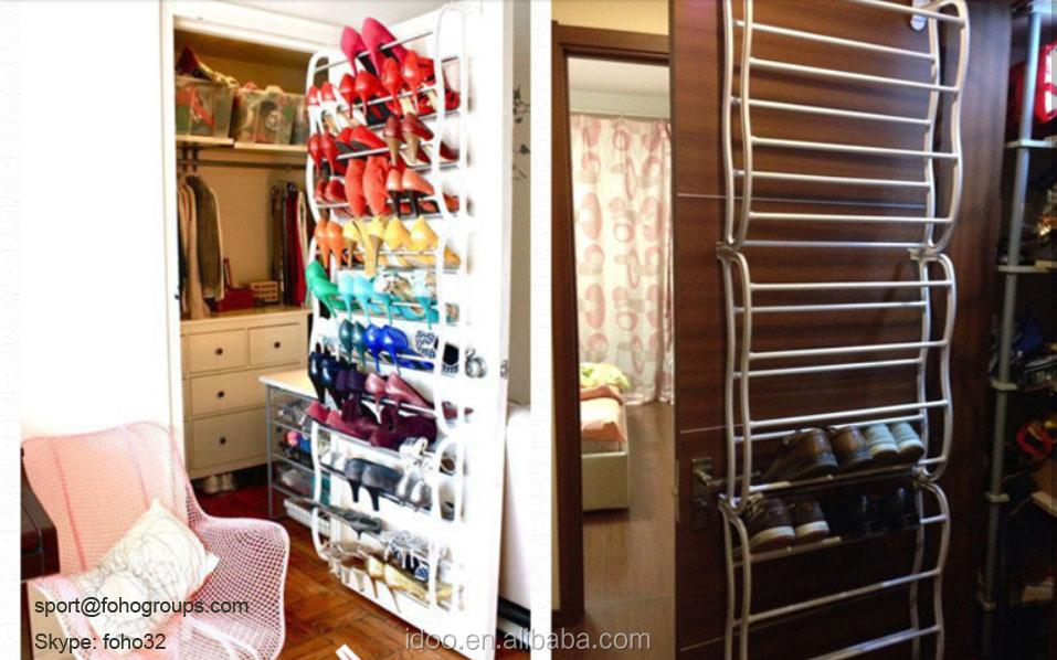 Living Room Furniture Door Rack Over Door Clothes Rack Cabinet Door Drying  Racks FH SRAD00484