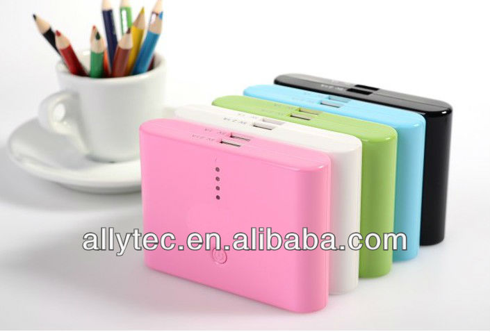 10400mah Real Capacity Colorful Moblie Power Pack For Cell Phone