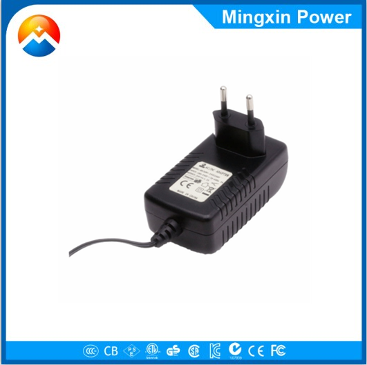 36W 12v 3a led transformer plug in power adapter with 5.5x2.1x10mm dc tip