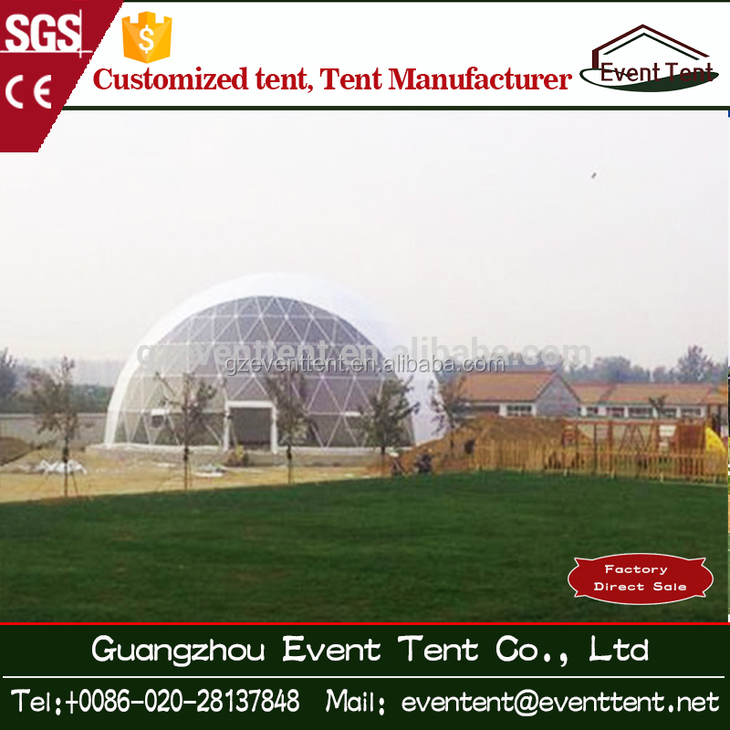 Various Event 30m Diameter Exhibition Tents/Outdoor Large Tent Geodesic Dome