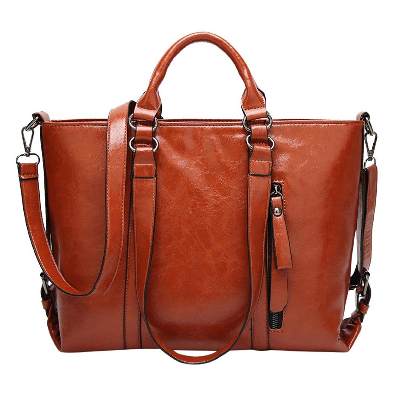 Owill Fashion Women Ladies Leather Handbag Shoulder Bag Durable Crossbody Tote Bag