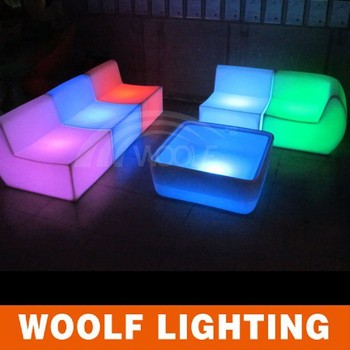 Rechargeable Led Lighting Sofa Outdoor Modern Plastic
