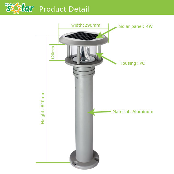 Outdoor Solar Light Parts: Factory price solar garden light parts, solar light parts,garden solar light,Lighting
