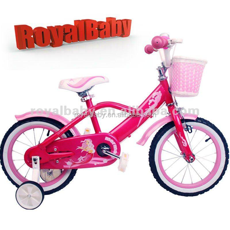 16 Inch Royalbaby Mermaid Girl Bike/children Bicycle From