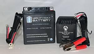 12V 1 AMP CHARGER Mighty Max 12V 8 AH SLA Replaces RB12V6