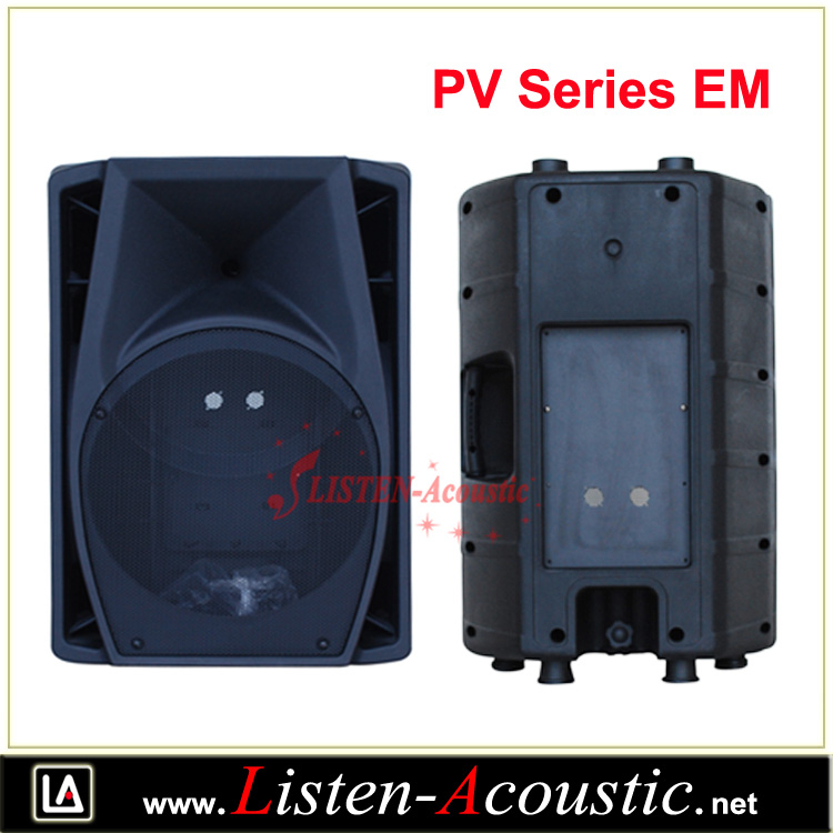 Pv-em High Quality Plastic Cabinet Empty Speaker Box