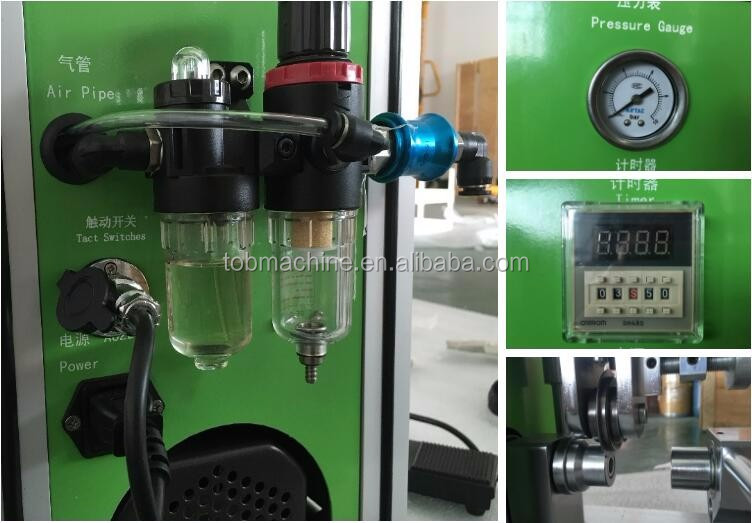 Lab Cylinder Cell Grooving Machine for 18650 Battery