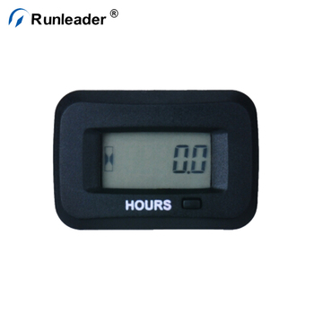 Runleader Digital Inductive Hour Meter Ac/dc Engine Hour Meter For Gasoline  Engine Diesel Engine Chainsaw Marine Generator Boat - Buy Hour Meter,Hour