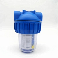 Hot Sale Mini RO Water Filter Parts Plastic Water Filter System Housing Plastic Water Filter System