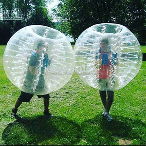 1.0m PVC Inflatable Body bubble ball Bumper Ball for1.1 to1.4m Kids