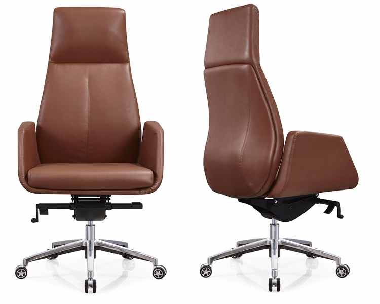 luxury office chair. Fashion Design Leather Office Chair High Back CEO Modern Luxury .
