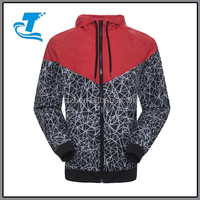 Spring And Autumn Mens Hooded Coats Quick Dry Long Sleeves Sport Jacket