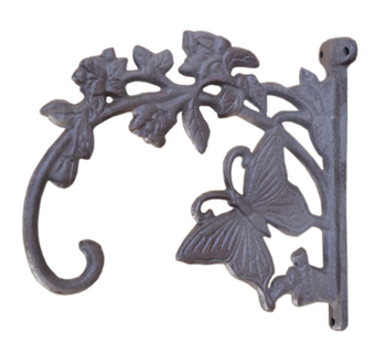 Cast Iron Erfly Plant Hooks Decorative Wrought Hangers Metal Hanger Hook Wall Outdoor