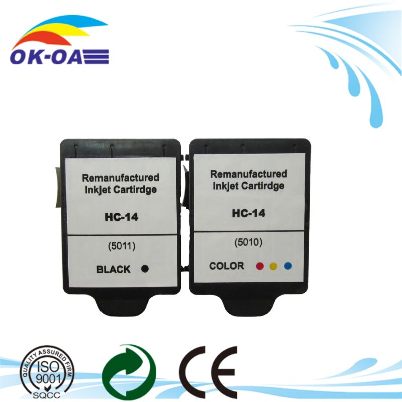 recycled inkjet 5010 5011 ink cartridges for hp
