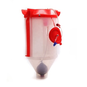6L/9L plastic feed measuring quantitative cups automatic pig feeder for sow farrowing crate
