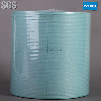 High quality nonwoven disposable industrial wipes roll