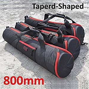 Foto.Studio 800mm Nylon Padded Camera Tripod Bag Light Stand Carrying Case Travel for Manfrotto Velbon Gitzo Slik etc 31.4 X 7.8 X 5 Inch Taperd-shaped