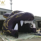 Tiger Mascot Inflatable Football Football Sport Game Inflatable Tunnel Tiger Mascot Tent/cool Game Decoration