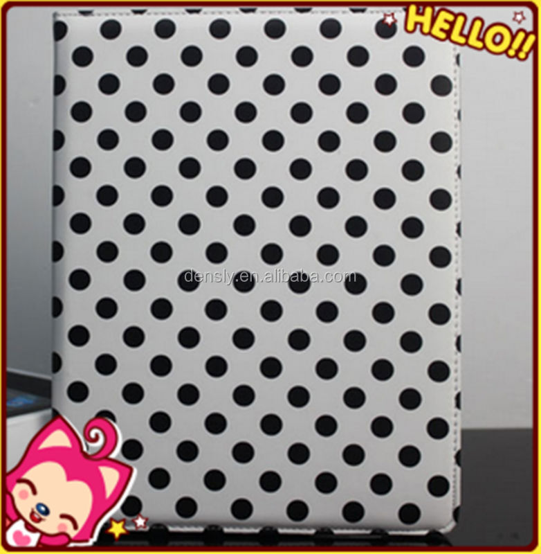 The hot sale product for 360 Degree Rotating PU Leather Case for ipad case 234