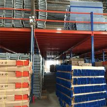 Quick construction low cost mezzanine racks with high load capacity