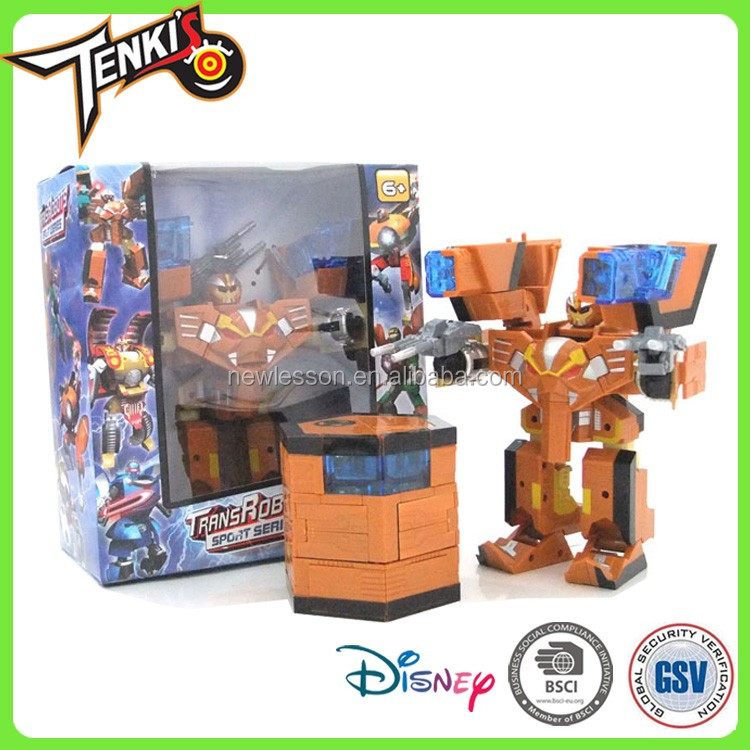 12KG interesting transformable robot toy Model kids toy robots for children in China manufacturer
