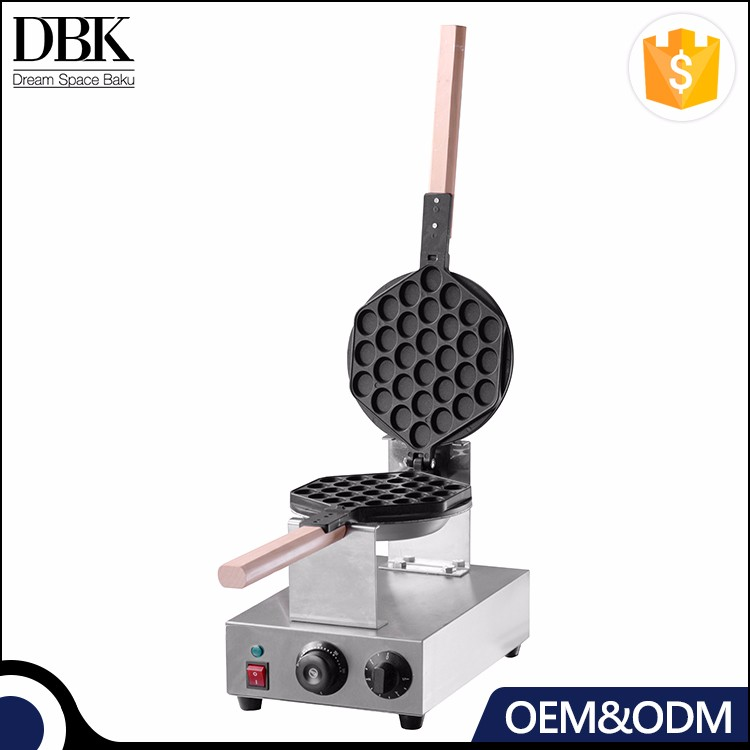 DBK Wholesale commercial Stainless steel egg waffle making machine