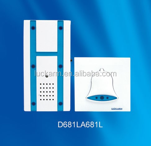 Wireless home automatic electric gong door bell