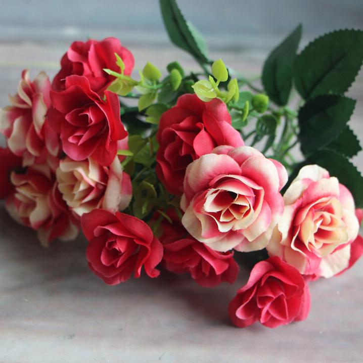 gnw fl-rs28-15-4 artificielle dessin chine fleur rose, longueur