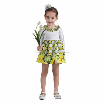 d79dc2c4c Wholesale Apparel Casual Kids Sunflower Fancy Dress Costumes - Buy ...