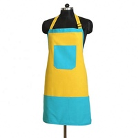 Promotional Customized Cooking 100 % Cotton Kitchen Apron With Logo