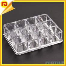 Hot sell Acrylic Lipstick organizer / nail polish tray / Cosmetic storage