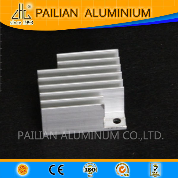 WOW!anodized silver white extrusion 6063 h aluminium alloy profile for hear sink in india
